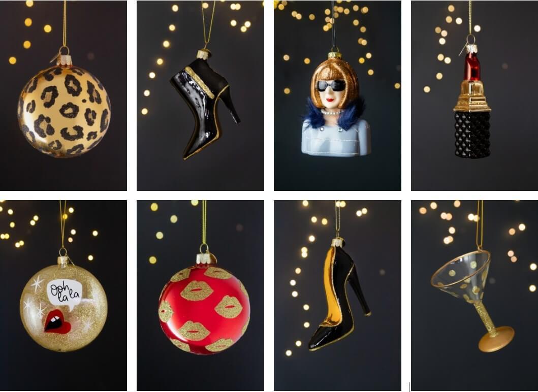 fashion inspired christmas decoration ideas by rockett st george