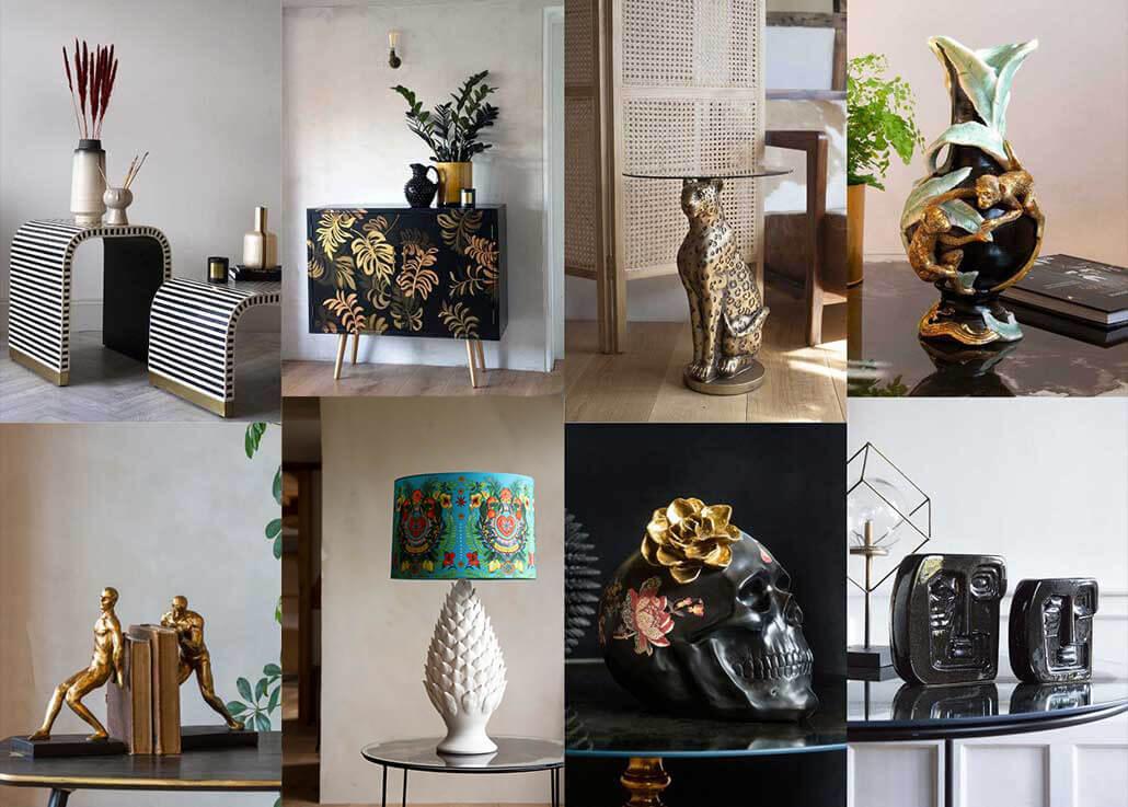 Get the look - english eccentric interior design trend 2020