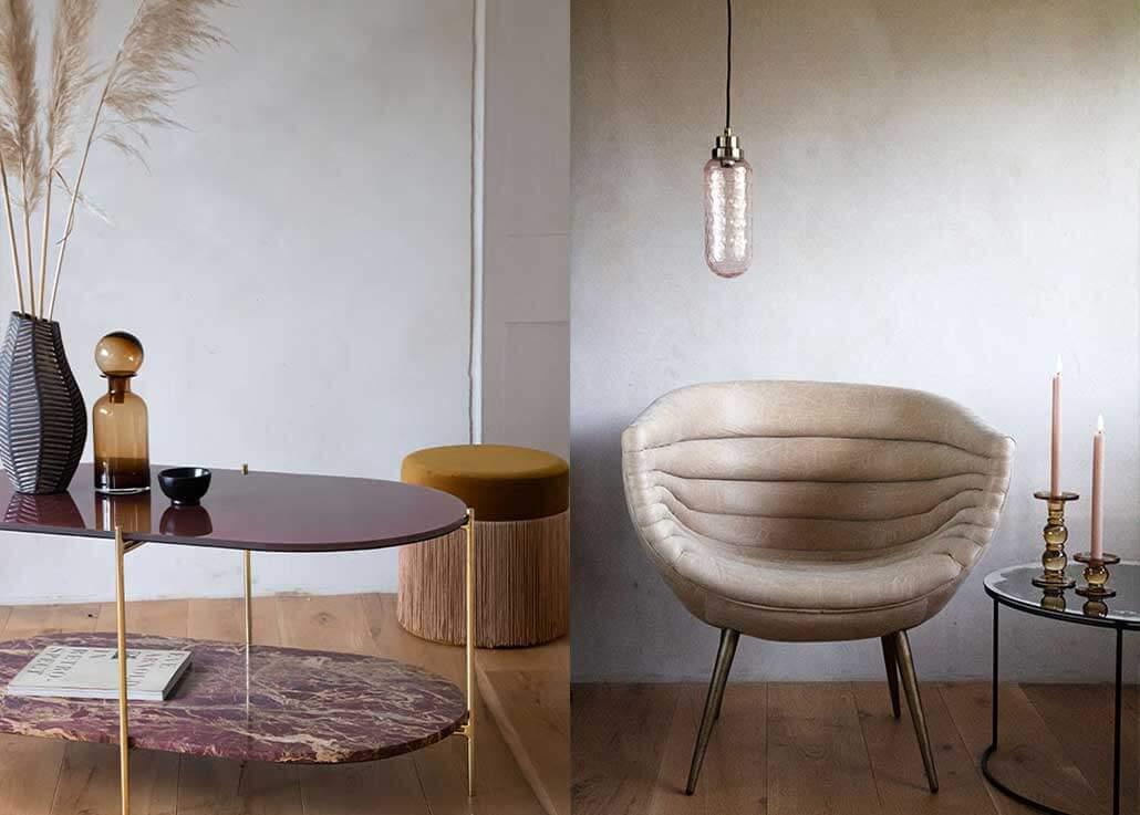 Natural Texture Interior Design Trend 2020