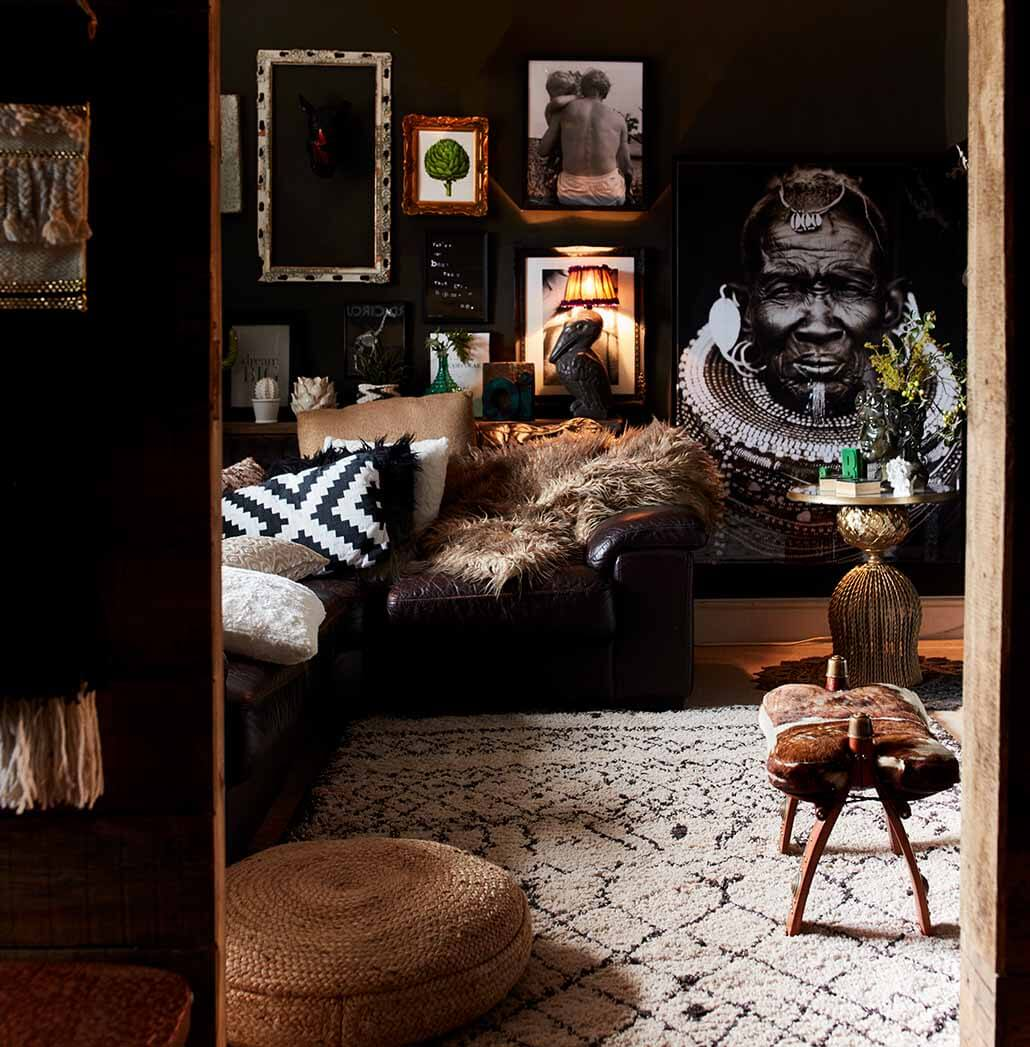 adding texture to your home with cushions and rugs